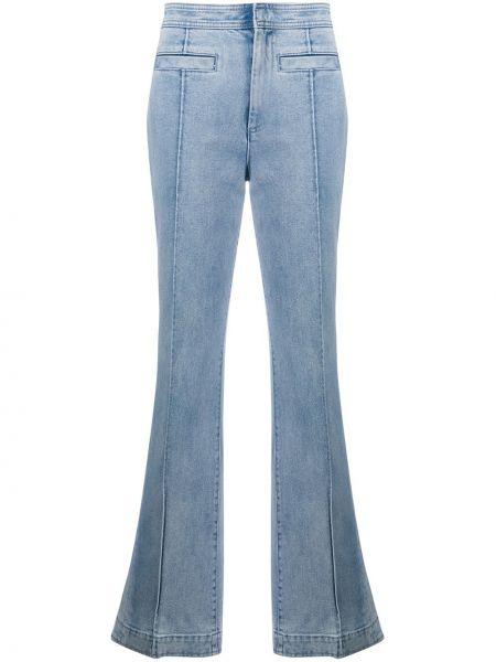 Расклешенные джинсы с карманами Tory Burch