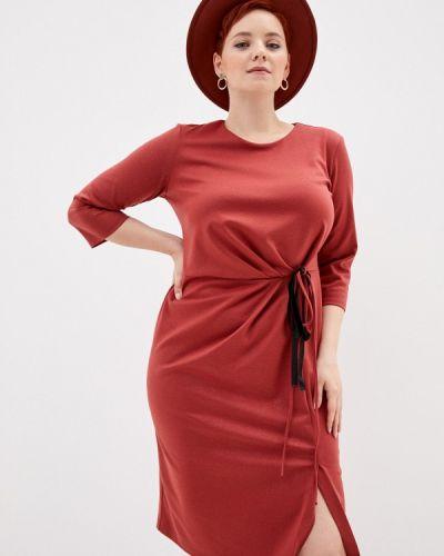 Повседневное красное повседневное платье Mankato