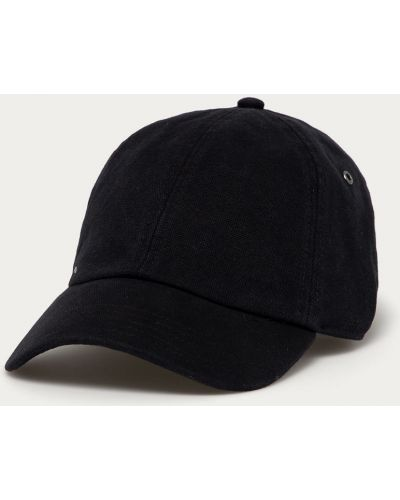 Czarny kapelusz bawełniany Rvca
