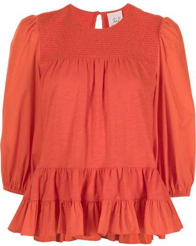 Блузка с оборками с вырезом с драпировкой Cinq À Sept