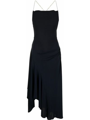 Синее платье из полиэстера 3.1 Phillip Lim