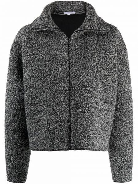 Шерстяная куртка - серая Beaufille