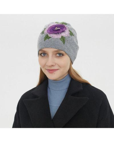 Серая шапка кашемировая Sabellino