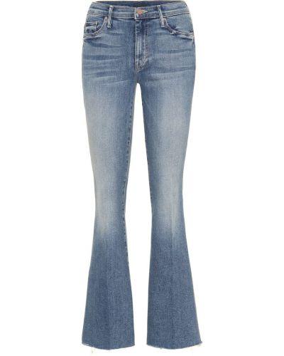 Расклешенные джинсы свободные mom Mother
