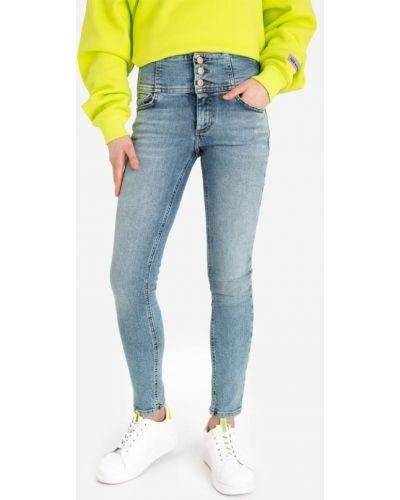 Голубые облегающие джинсы Gloria Jeans