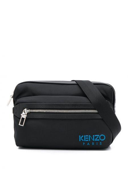 Поясная сумка на молнии черная Kenzo