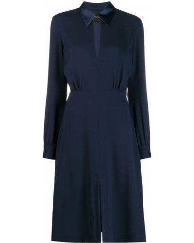 Платье платье-рубашка расклешенное Erika Cavallini