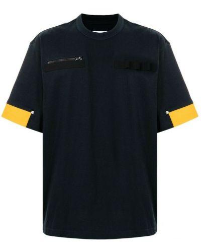 Czarna t-shirt Sacai