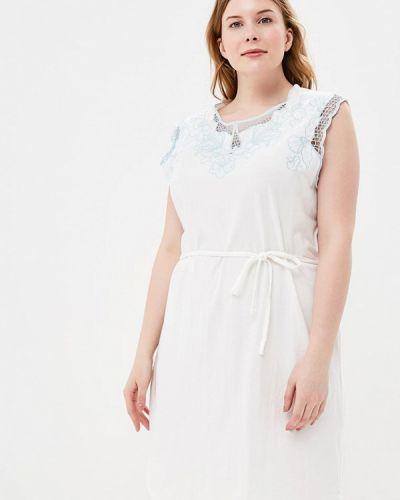 Белое платье весеннее Junarose
