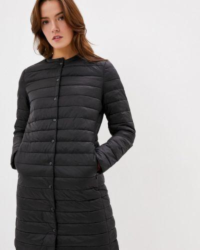 Черная теплая куртка Befree