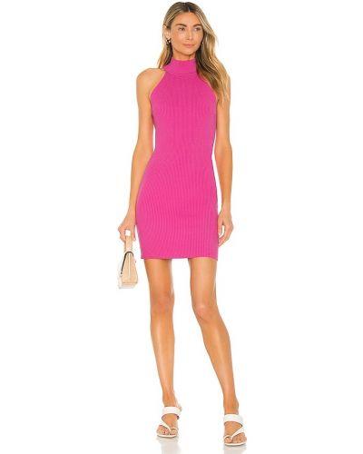 Розовое хлопковое платье Line & Dot