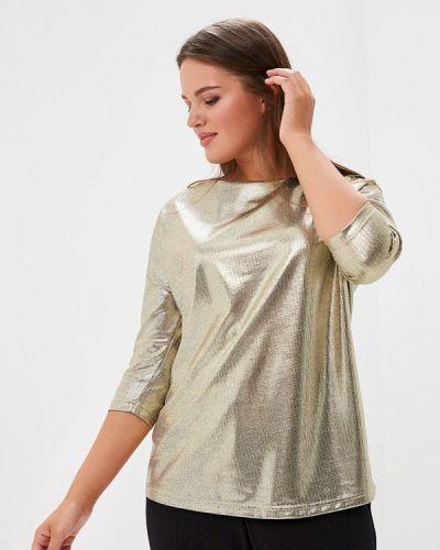 Блузка с длинным рукавом золотого цвета Savage