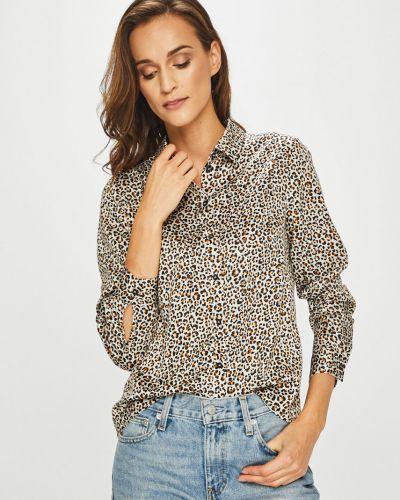 Блузка с длинным рукавом прямая на пуговицах Only
