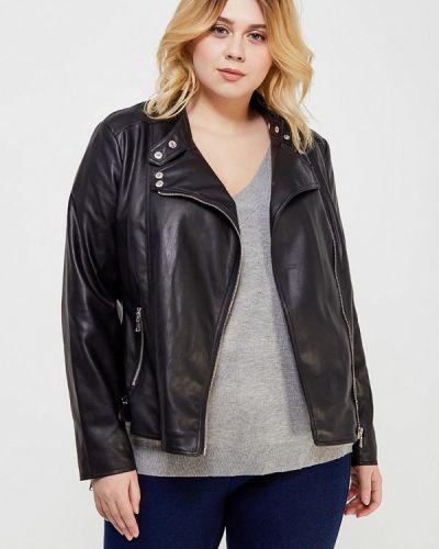 Черная куртка Violeta By Mango