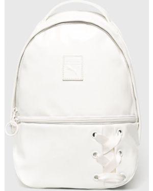 Кожаный рюкзак с подкладкой белый Puma