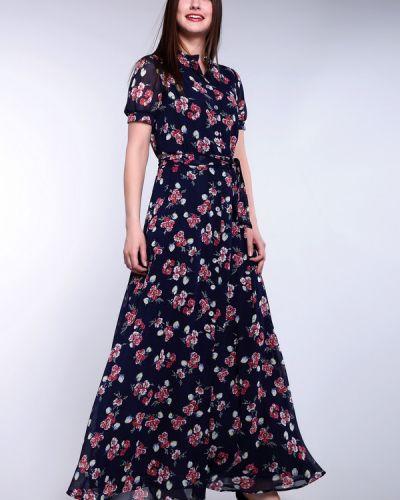 Платье с поясом на пуговицах платье-поло Argent