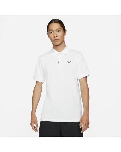 T-shirt dzianinowa - pomarańczowa Nike