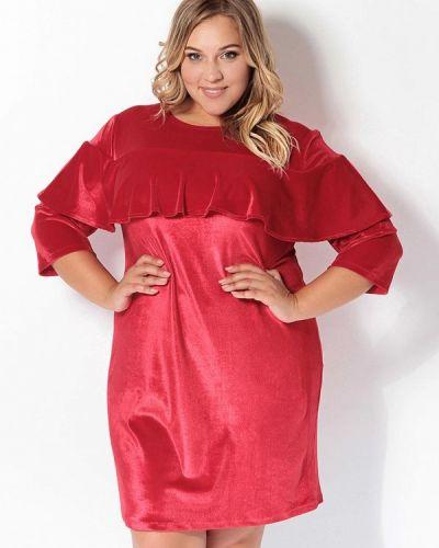 Красное вечернее платье Tutto Bene Plus