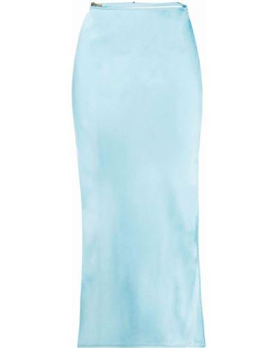 Satynowa spódnica - niebieska Jacquemus