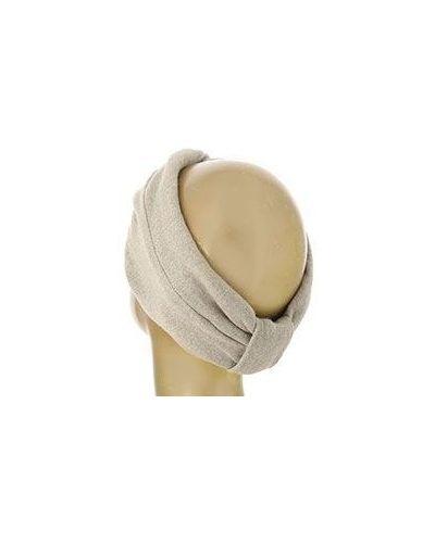Бежевая шапка шерстяная Emporio Armani