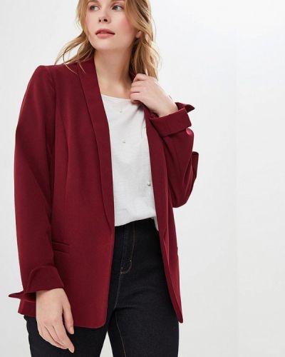 Пиджак бордовый красный Dorothy Perkins Curve