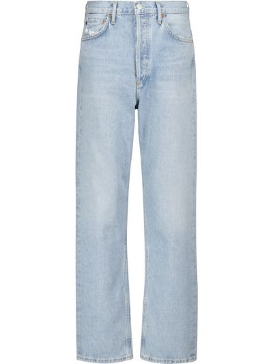 Джинсовые прямые джинсы - синие Agolde