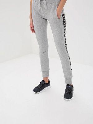 Спортивные брюки серые турецкий Boxeur Des Rues