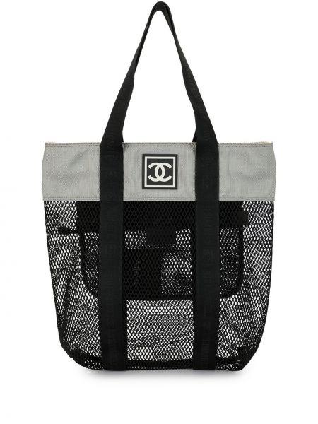 Torba na ramię z uchwytem z logo Chanel Pre-owned