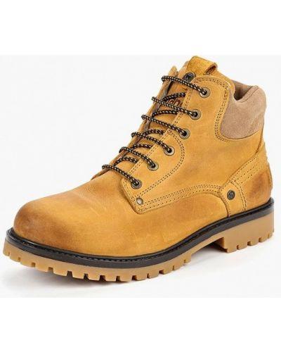 Ботинки осенние из нубука Wrangler