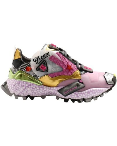 Różowe sneakersy Cljd