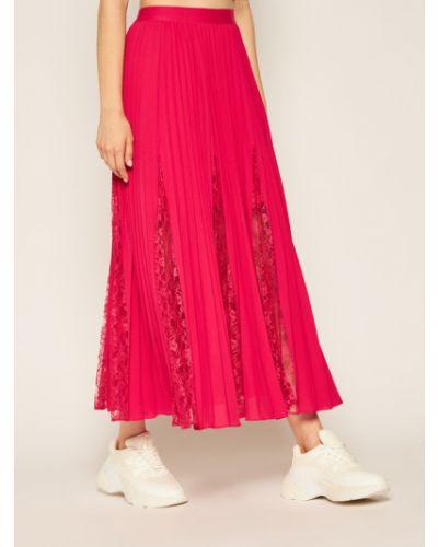 Różowa spódnica Guess