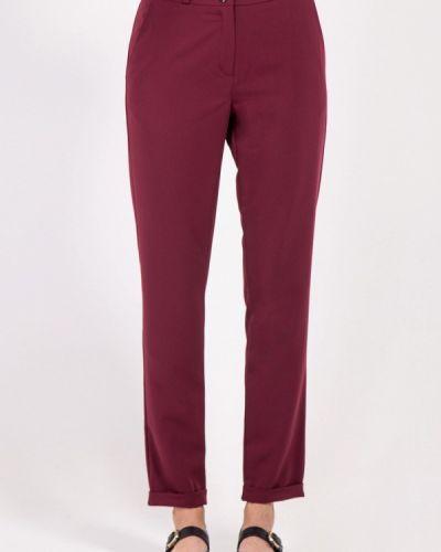 Классические брюки бордовый красный Bessa