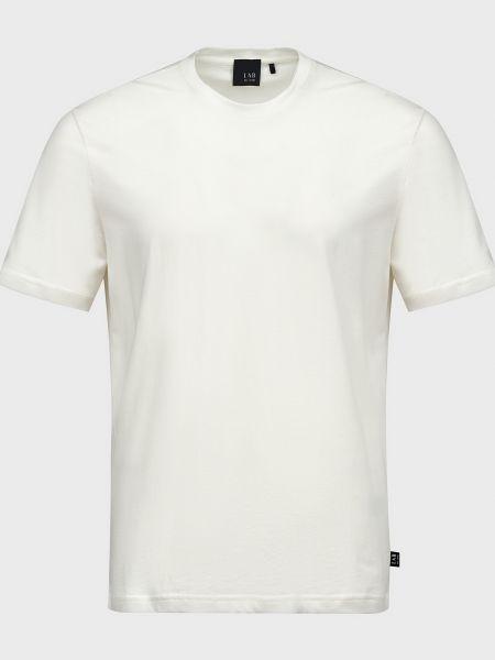 Хлопковая футболка - белая Lab. Pal Zileri