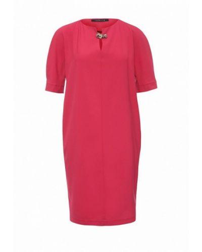 Розовое платье прямое Levall