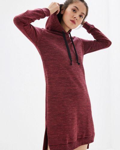 Платье бордовый красный Bona Fide