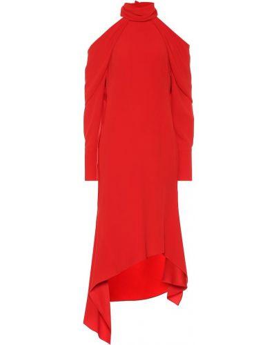Платье миди из штапеля из вискозы Monse