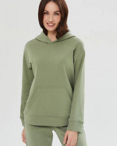 Худи - зеленое Moru