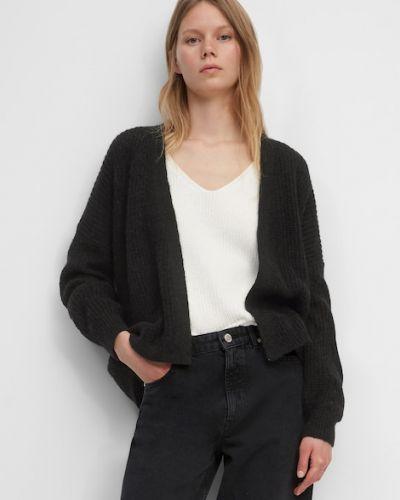 Czarny sweter bawełniany Marc O Polo