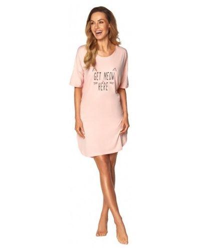 Розовая хлопковая пижама Rossli
