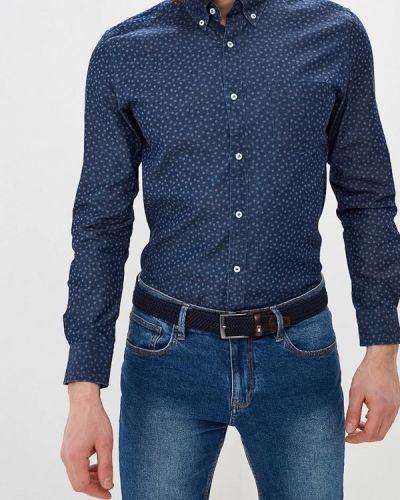 Рубашка с длинным рукавом синий Cortefiel