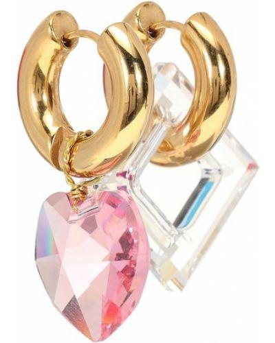Серьги с жемчугом золотые серьги-кольца Timeless Pearly