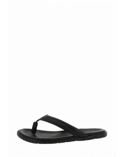 Черные сандалии Gianni Famoso