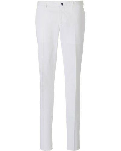 Białe spodnie Incotex