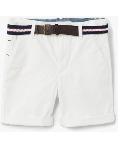 Белые шорты Mango Kids