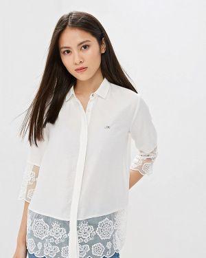 Блузка с длинным рукавом белая турецкий U.s. Polo Assn.