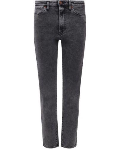 Укороченные джинсы - серые 3x1