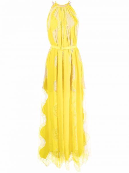 Вечернее платье длинное - желтое Stella Mccartney