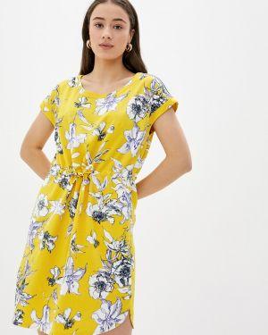 Повседневное платье весеннее желтый Betty Barclay