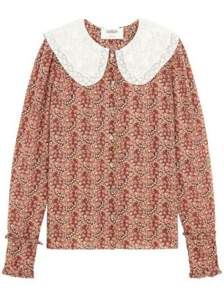 Różowa koszula Ba&sh