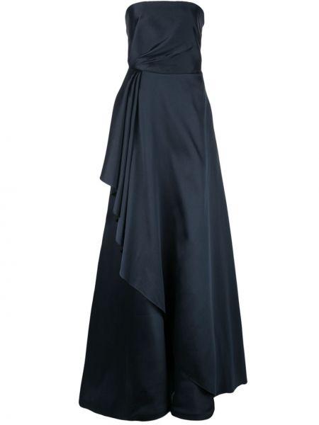 Niebieska sukienka długa Sachin & Babi